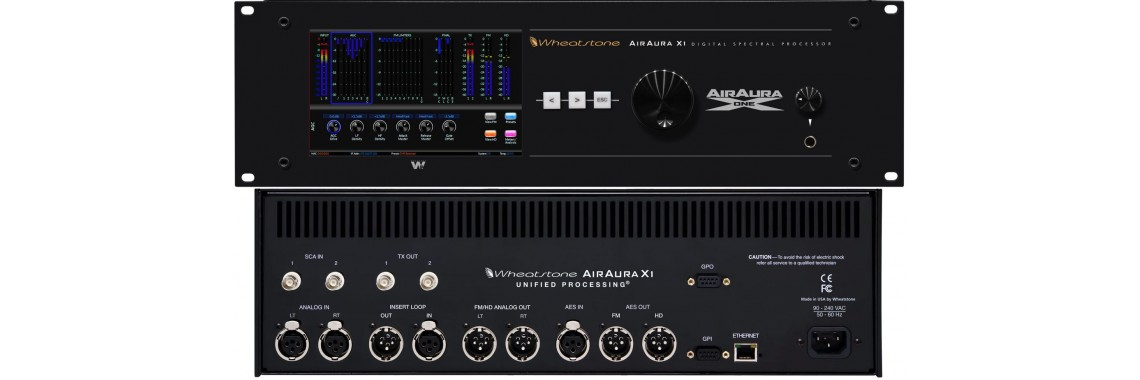 Wheatstone AirAura X1 Audio Processor
