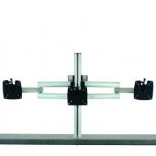 m!ka SET 6:     Triple XL Monitor Set aluminum