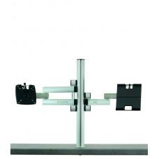 m!ka SET 8:    Single Monitor + Pad-Dock Set aluminum