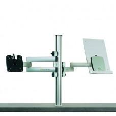 m!ka SET 9: Single Monitor + CopyStand Set aluminum